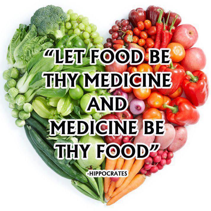 Voedseluitspraak door Hippocrates
